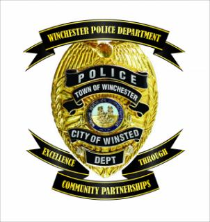 Winchester Police Badge