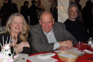 Candace Bouchard, Friends Members Dick Labich and Andy Jones
