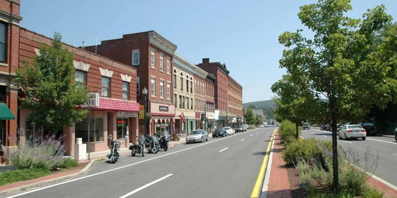 Beautiful Downtown Winsted
