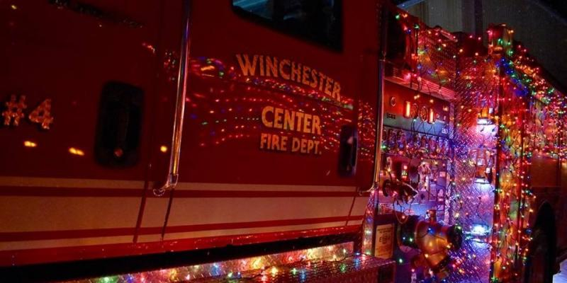 Winchester Fire Department Decked Out for Annual Gator Parade